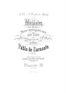 Muiñeira, Op.32: Partitur by Pablo de Sarasate