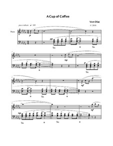 A Cup of Coffee, Op.17: A Cup of Coffee by Ven Goudoukine Olac