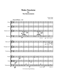 Waltz Novelette for Ten Instruments: Waltz Novelette for Ten Instruments by Jordan Grigg