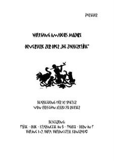 Ouvertüre: Bearbeitet für 10 Spieler by Wolfgang Amadeus Mozart