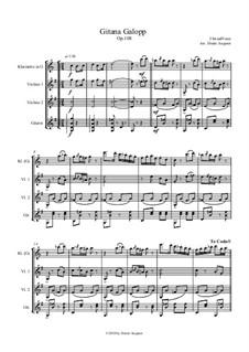 Gitana - Galopp, Op.108: Gitana - Galopp by Johann Strauss (Vater)
