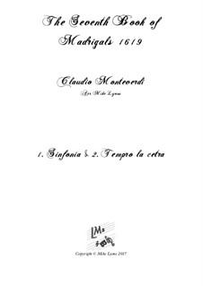 Book 7 (Concerto), SV 117–145: No.01 Tempro la cetra a5 by Claudio Monteverdi