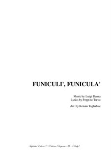 Funiculi, Funicula: For SATB choir by Luigi Denza