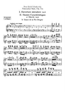 Vollständiger Teile: Celesta- oder Klavierstimme by Pjotr Tschaikowski