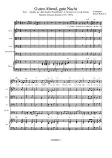 Nr.4 Wiegenlied: For sextet, BRWV 65 by Johannes Brahms