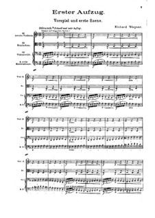 Die Walküre, WWV 86b: Akt I, Vorspiel und Szene I by Richard Wagner