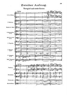 Die Walküre, WWV 86b: Akt II by Richard Wagner