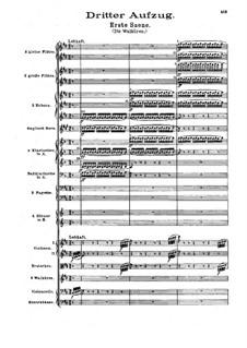 Die Walküre, WWV 86b: Akt III by Richard Wagner