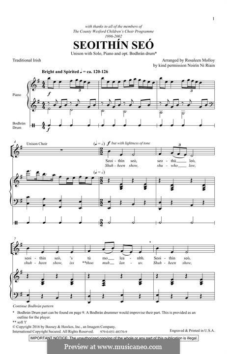 Seoithin Seo: Für Stimmen und Klavier by folklore