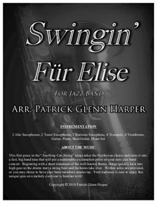 Für Elise, WoO 59: Swingin, for jazz band by Ludwig van Beethoven