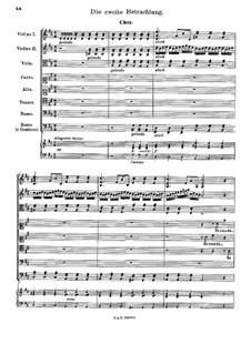 Der Tag des Gerichts, TWV 06:8: Betrachtungen II, III by Georg Philipp Telemann