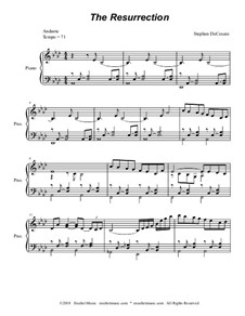 The Rosary (Glorious Mysteries): For piano (with accompaniment track) by Stephen DeCesare, Melchior Ludwig Herold