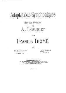 Brunette: Brunette by Francis Thomé