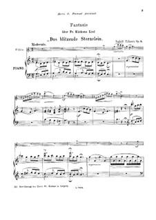 Fantasie über 'Das blitzende Sternelein' von Fr. Kückens, Op.5: Fantasie über 'Das blitzende Sternelein' von Fr. Kückens by Rudolf Tillmetz