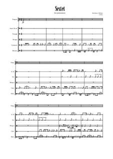 Секстет для ударных инструментов: Секстет для ударных инструментов by Maksim Starshinov
