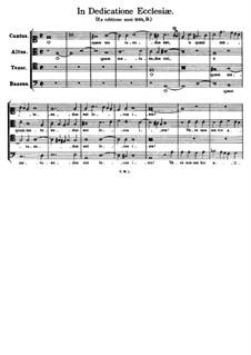 In Dedicatione Ecclesiae. O quam metuendus est: In Dedicatione Ecclesiae. O quam metuendus est by Tomás Luis de Victoria