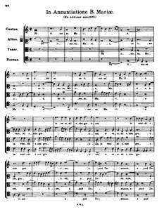 In Annuntiatione Beatae Mariae. Ne timeas Maria: In Annuntiatione Beatae Mariae. Ne timeas Maria by Tomás Luis de Victoria