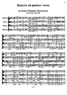 In Festo Omnium Sanctorum. O Quam Gloriosum Est Regnum: In Festo Omnium Sanctorum. O Quam Gloriosum Est Regnum by Tomás Luis de Victoria