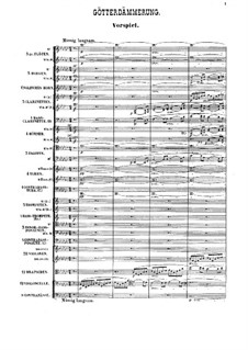 Götterdämmerung, WWV 86d: Präludium by Richard Wagner