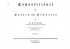 Selim und Mirza: Heft II. Bearbeitung für Solisten, Chor und Klavier by Hardenack Otto Conrad Zinck
