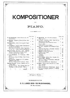 Prindsesse Isabella: Tarantella und Chor, für Klavier by Ludvig Zinck