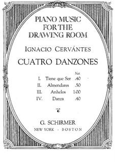 Vier Tänze: Vier Tänze by Ignacio Cervantes