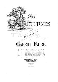 Drei Nocturnes, Op.33: Nocturne Nr.2 in H-Dur by Gabriel Fauré