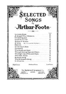 A Song of Four Seasons: A Song of Four Seasons by Arthur  Foote