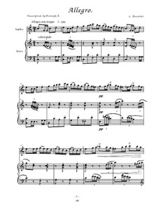 Allegro: Allegro by Luigi Boccherini