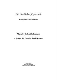 Vollständiger Satz: Für Flöte und Piano by Robert Schumann