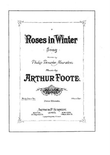 Roses in Winter: Roses in Winter by Arthur  Foote
