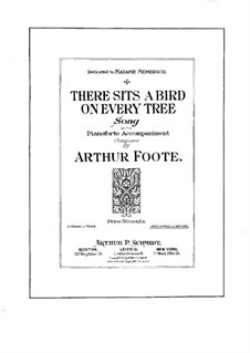 There Sits a Bird on Every Tree: There Sits a Bird on Every Tree by Arthur  Foote