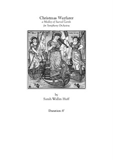 Christmas Wayfarer: Vollpartitur by Sarah Wallin Huff