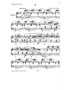Improvisationen, Op.11: Für Orgel by Robert Fuchs