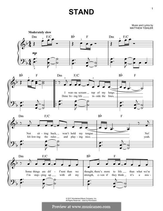 Stand: Für Klavier by Matthew Tishler
