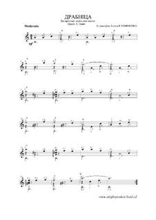 Belorussisches Volkslied 'Драбнiца': Belorussisches Volkslied 'Драбнiца', Op.4 by folklore
