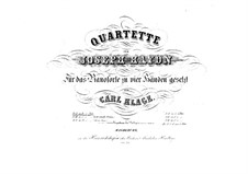 Streichquartett Nr.64 in D-Dur, Hob.III/79 Op.76 No.5: Version für Klavier, vierhändig by Joseph Haydn