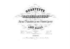 Streichquartett Nr.62 in C-Dur 'Kaiser', Hob.III/77 Op.76 No.3: Version für Klavier, vierhändig by Joseph Haydn