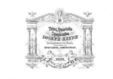 Klaviertrios (Sammlung), Hob.XV: Nr.5-8. Version für Klavier, viergändig by Joseph Haydn