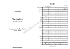 Marcha Real - Spanish Anthem: For brass band by folklore
