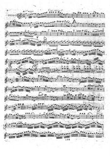 Sechs Duette für zwei Klarinetten, Op.5: Duett Nr.2 by Michel Yost