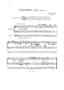 Kanzone in g-Moll: Kanzone in g-Moll by Johann Kaspar Kerll
