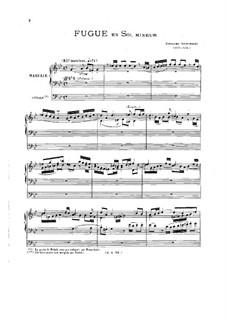 Zwei Fugen: In g-Moll by Girolamo Frescobaldi