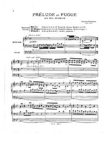 Präludium für Orgel in g-moll, BuxWV 150: Für einen Interpreten by Dietrich Buxtehude