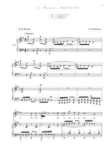 Pierrot: Für Stimme und Klavier by Claude Debussy