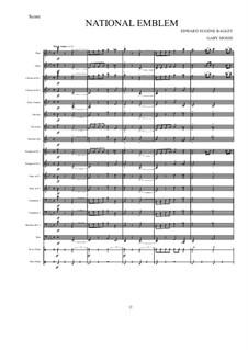 National Emblem: For concert band by Edwin Eugene Bagley