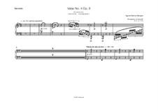 Valse No.4, Op.8: Valse No.4 by Agustín Pío Barrios Mangoré