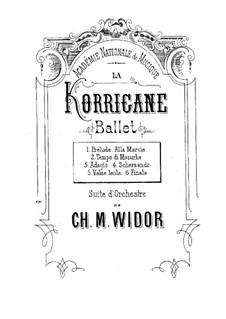 La korrigane: La korrigane by Charles-Marie Widor