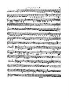 Sinfonie Nr.1 in B-Dur: Hornstimme II by François Joseph Gossec