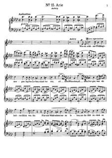 Aubry's aria, 'Wie ein schöner Frühlingsmorgen' aus der Opera 'Der Vampyr': Aubry's aria, 'Wie ein schöner Frühlingsmorgen' aus der Opera 'Der Vampyr' by Heinrich Marschner